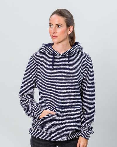 STRIPE HOODY (CRASH STRUCTURE KNIT) – image 1