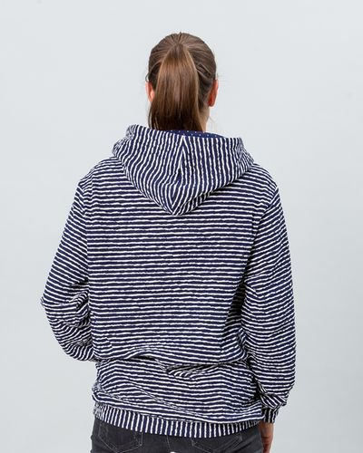 STRIPE HOODY (CRASH STRUCTURE KNIT) – image 2
