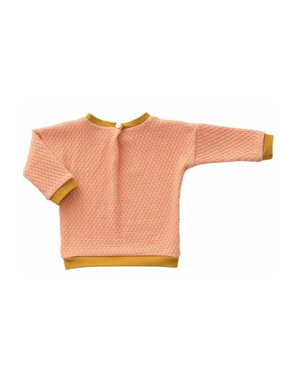 MERINO ROUND NECK PULLOVER (WAFFLE KNIT) – image 5