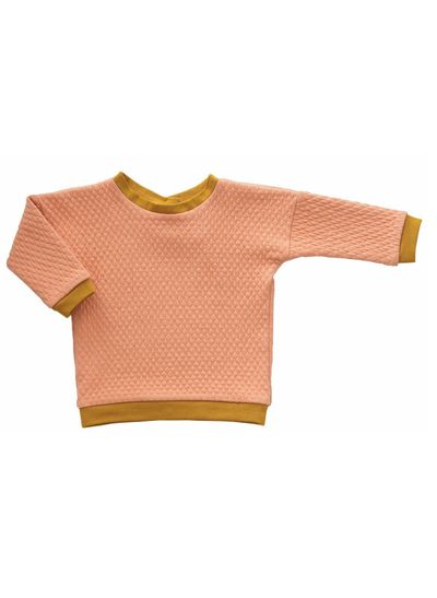 MERINO ROUND NECK PULLOVER (WAFFLE KNIT) – image 4