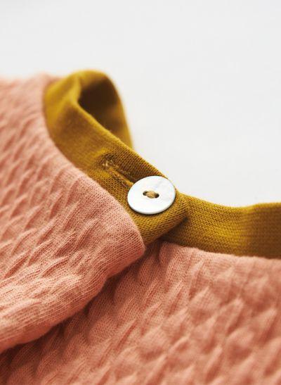 MERINO ROUND NECK PULLOVER (WAFFLE KNIT) – image 6