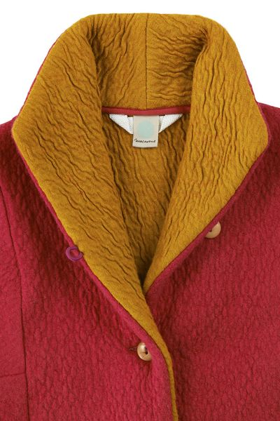 MERINO JACKET (BOILED WOOL KNIT) – image 9
