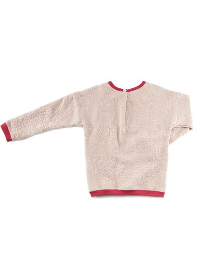 ROUND NECK PULLOVER (RELIEF STRUCTURE KNIT) – image 4