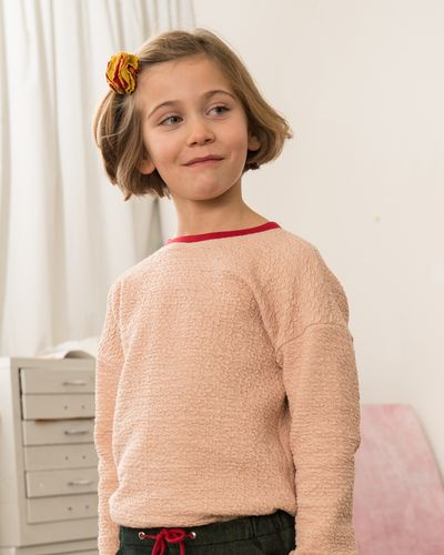 ROUND NECK PULLOVER (RELIEF STRUCTURE KNIT) – image 1