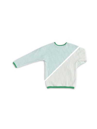 PULLOVER REVERSIBLE (CRASH ZIGZAG KNIT) – image 4