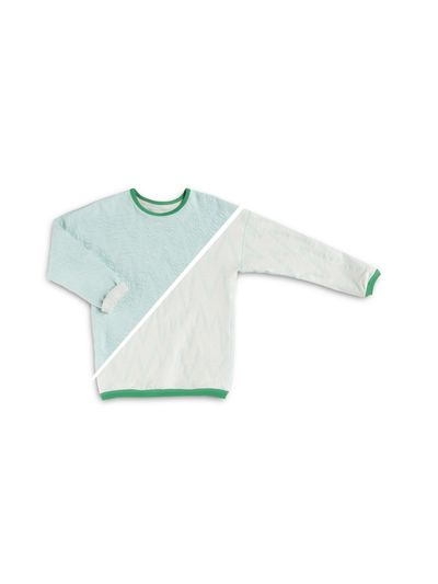 PULLOVER REVERSIBLE (CRASH ZIGZAG KNIT) – image 3