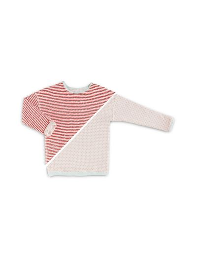 STRIPE PULLOVER REVERSIBLE (CRASH KNIT) – image 4
