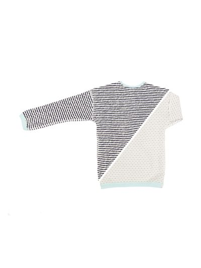 STRIPE PULLOVER REVERSIBLE (CRASH KNIT) – image 10