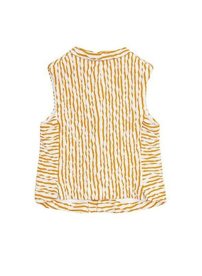 STRIPE VEST (CRASH KNIT) – image 4