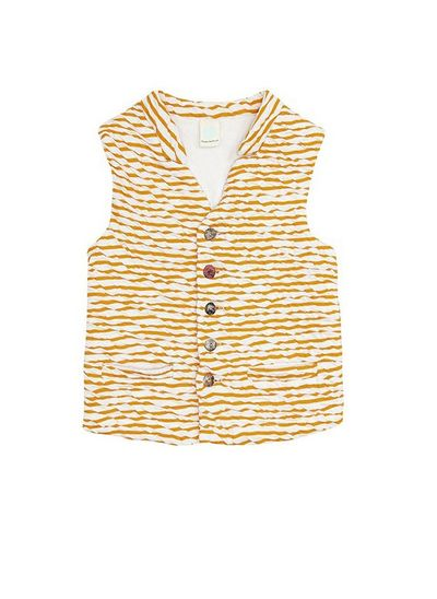 STRIPE VEST (CRASH KNIT) – image 3