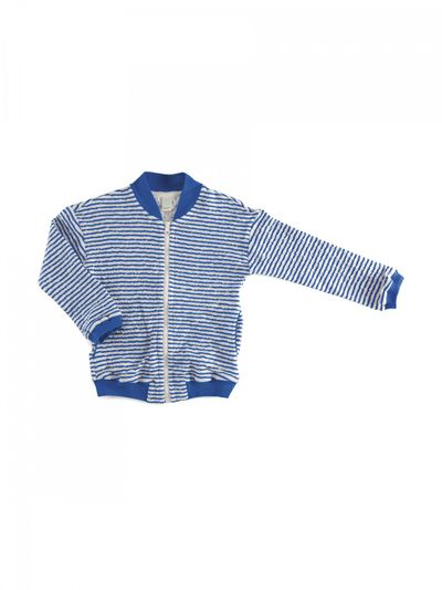 STRIPE BOMBER (CRASH KNIT) – image 5