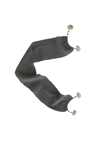 WINTER SCARF (CASHMERE WOOL KNIT) – image 2