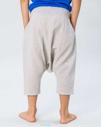 HAREM PANTS FAUX CARREAU – image 2