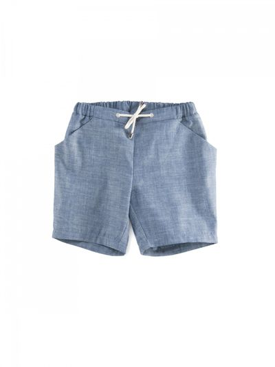 SAILING SHORTS DENIM – image 2