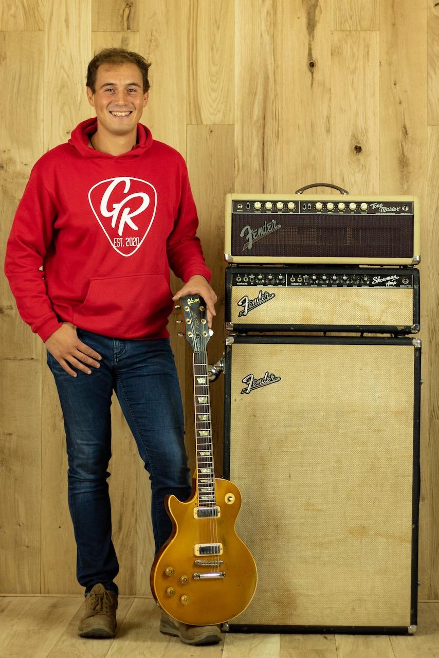 David Gögercin Porträt Foto GR Guitars