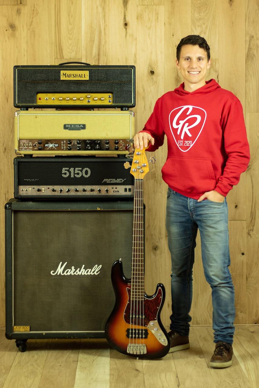 Max Regnath Porträt Foto GR Guitars