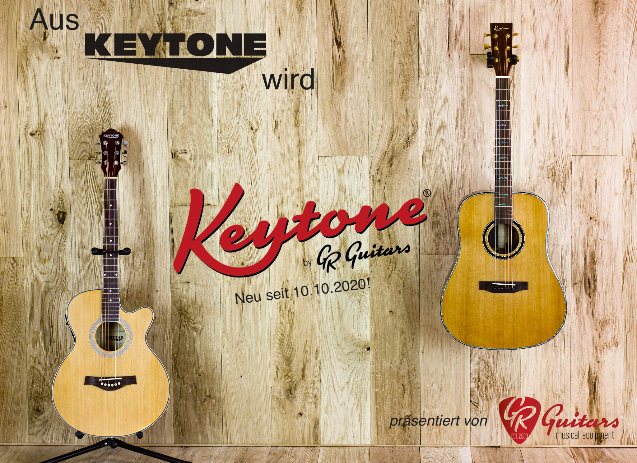 Neu: Keytone® by GR Guitars