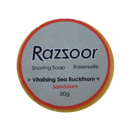 RAZZOOR Shaving Soap Sea Buckthorn Refill