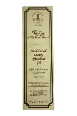 Taylor Sandelwood After Shave Gel 75ml