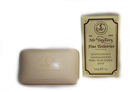 TAYLOR Gentlemans Sandalwood Pure Vegetable Soap  - Sandelholz Badeseife