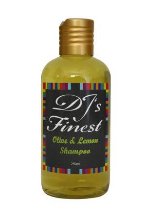 DJ'S Finest Olive and Lemon Shampoo