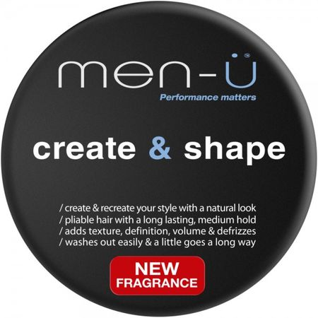 men-ü Create and Shape