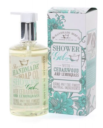 The HANDMADE SOAP CO. Cedarwood & Lemongrass Shower Gel - Duschgel
