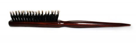 Hairbrush/ beard brush made of wood with boar bristles – Bild 3
