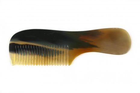 Bilson handle comb made from genuine Buffalo Horn, 15cm – Bild 1