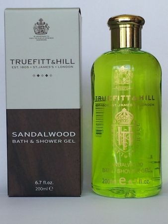 Truefitt & Hill Sandalwood Shower Gel - Duschgel