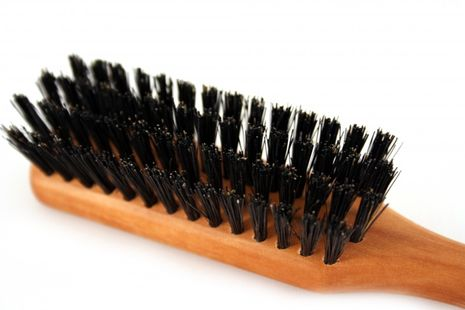 RAZZOOR Large beard brush with boar bristle with handle for proper beard care – Bild 3