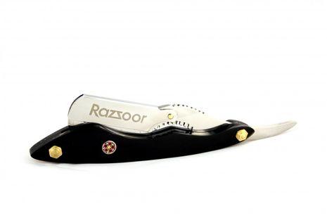RAZZOOR Razor with interchangeable blade Buffalo Horn – Bild 1