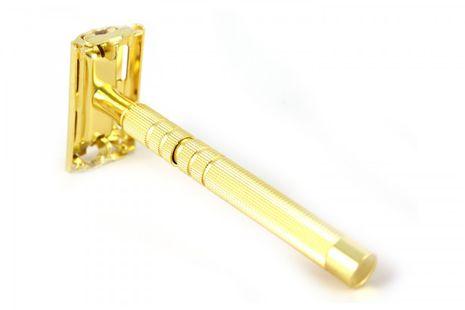 Five Stars Rasierhobel Gold - Nassrasierer, Sicherheitsrasierer – Bild 3