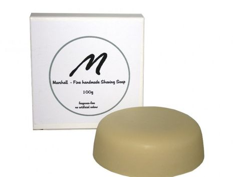 Marshall Handmade Shaving Soap 100g