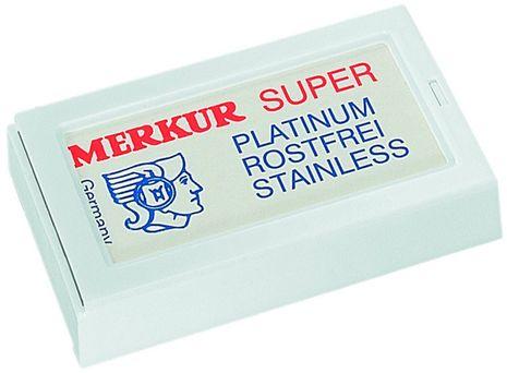 Merkur Super Platinum Rasierklingen – Bild 1