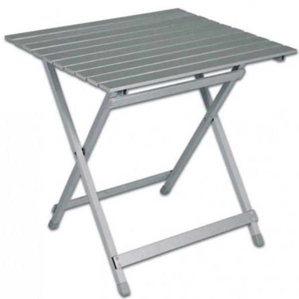 Aluminium Klapptisch.Praktischer Aluminium Klapptisch Balkontisch Beistelltisch Gartentisch Campingtisch B Ware