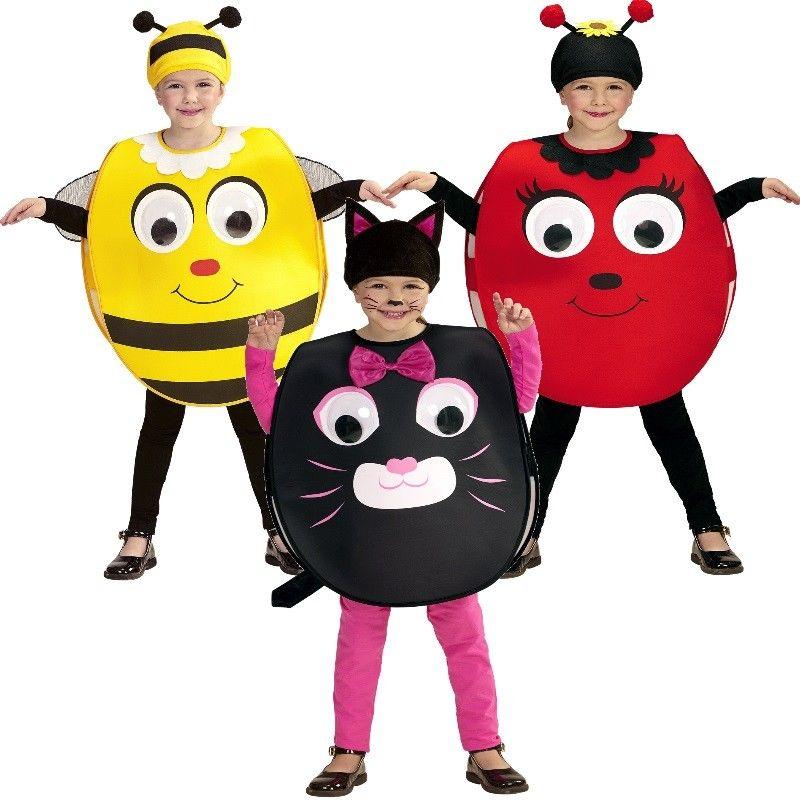 Lustiges Kinder Kostüm mit großen Kulleraugen und passendem Käppi ...