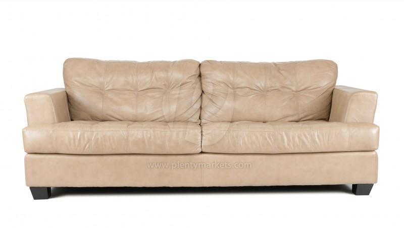 Leder-Sofa »San Jose« braun