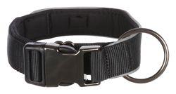 Trixie, Experience Halsband, extra breit, M–L: 37–50 cm/30 mm, schwarz – Bild 2