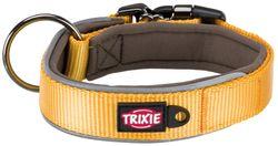 Trixie, Experience Halsband, extra breit, M–L: 37–50 cm/30 mm, gelb – Bild 1
