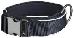 Trixie, Experience Halsband, extra breit, L–XL: 45–60 cm/40 mm, schwarz – Bild 1