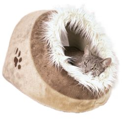 Trixie, Kuschelhöhle Minou, 41 × 30 × 50 cm, beige/braun – Bild 1