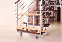 Trixie, Hunde-Absperrgitter, Holz, 65–108 × 50 cm – Bild 3