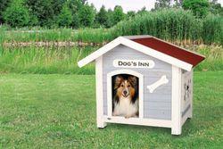 natura Hundehütte Dog's Inn mit Satteldach – Bild 2