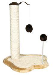 Trixie, Kratzpfote mit Stamm, 50 cm, natur/beige/braun