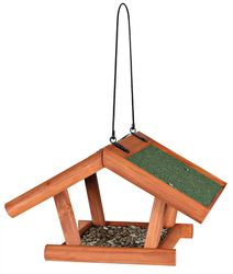 Trixie, natura Futterhaus zum Hängen, 30 × 18 × 28 cm, braun
