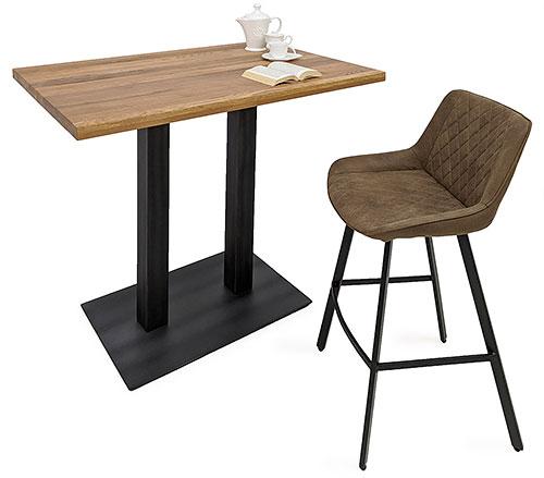 Bistrotisch mit Stuhl