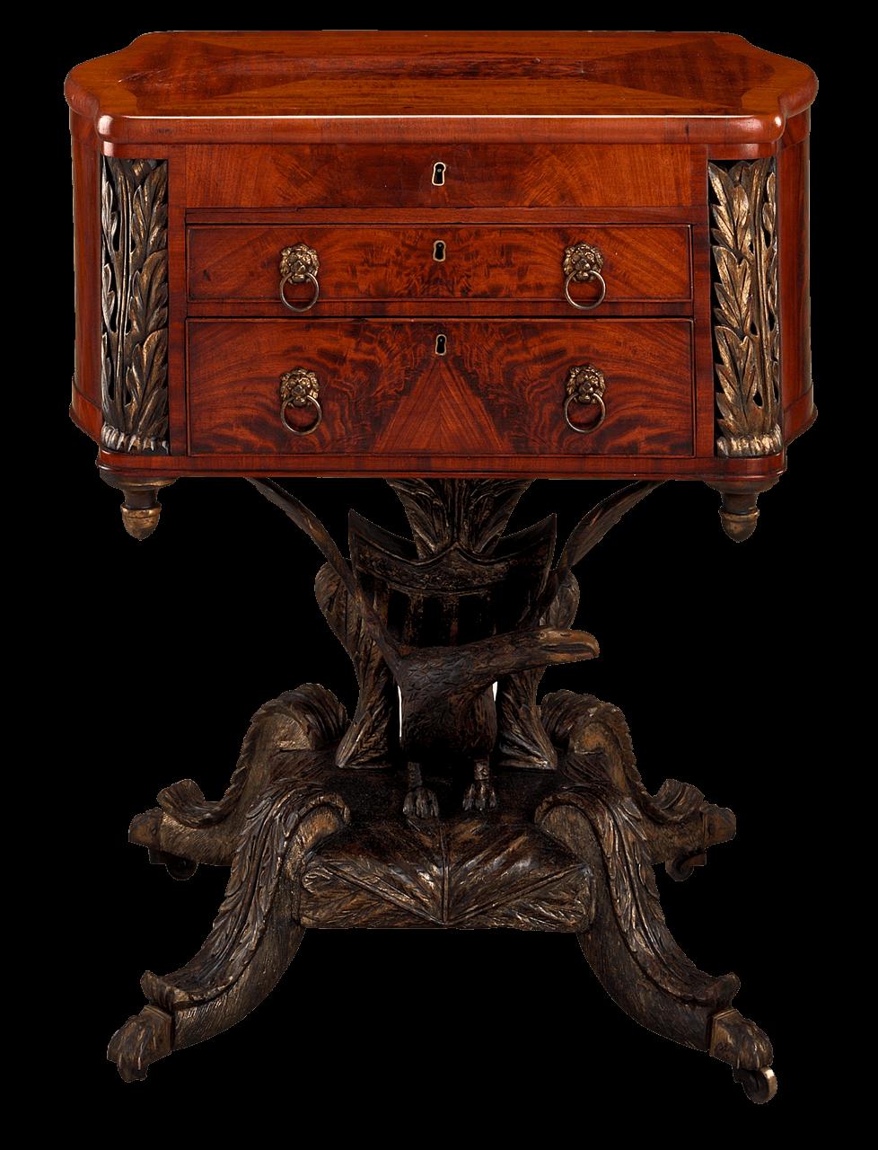 Mahagoni Tisch