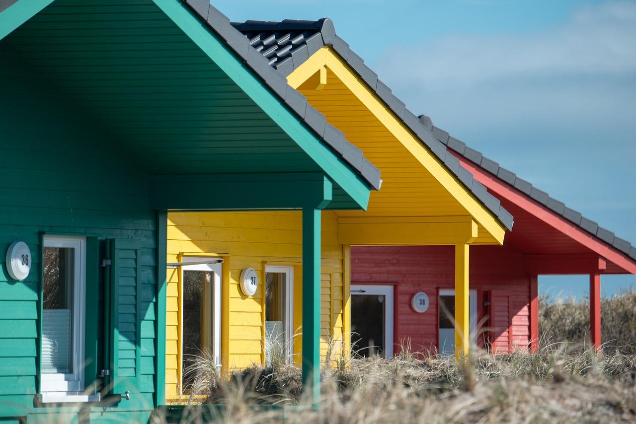 Skandinavische Holzhäuser