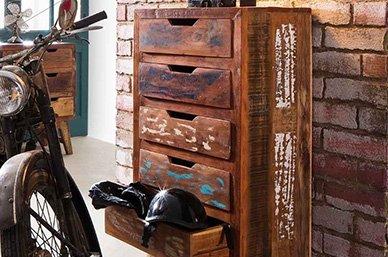 Malm Massivholz Möbel Serie